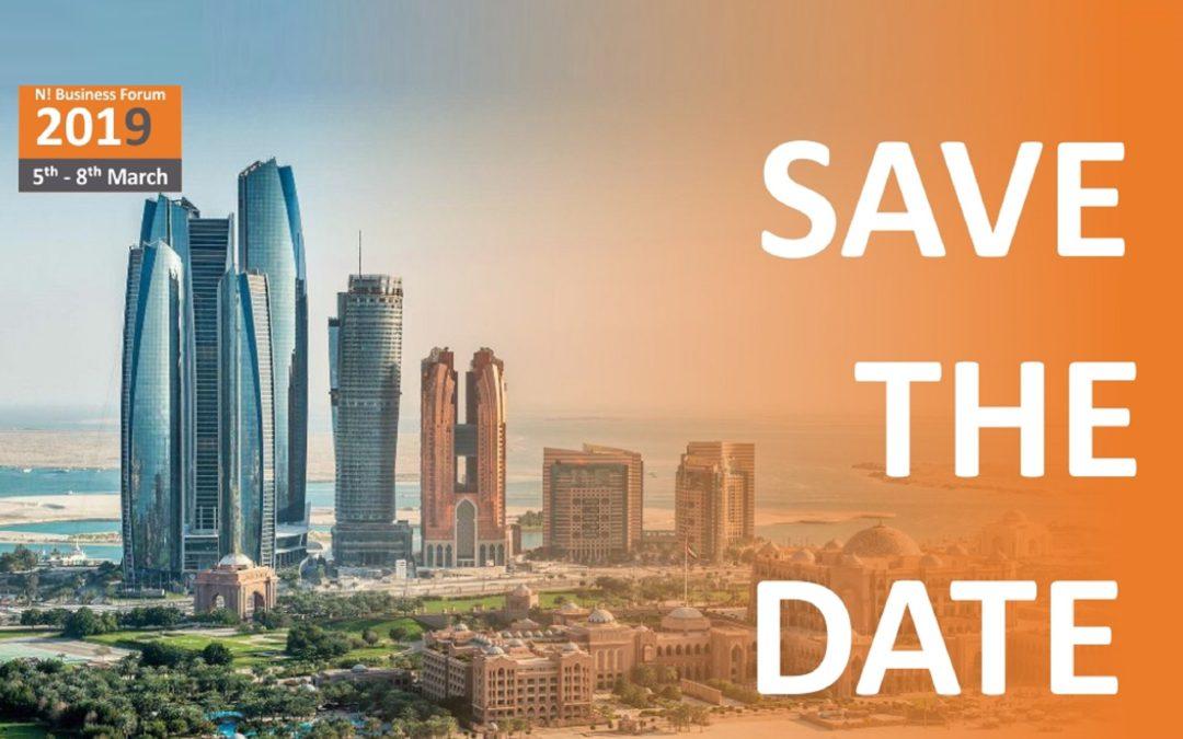 N! Бізнес-Форум 2019 в Абу-Дабі