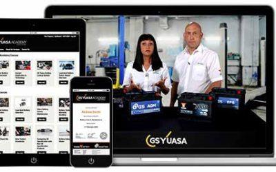 Запуск учебной онлайн-платформы GS Yuasa Academy