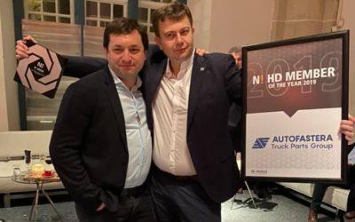 «AutoFastera LTD» получила награду «N! HD Member of the year 2019»!
