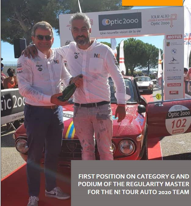 Nexus Automotive International, together with Renovatio and Bekelit, have joined the oldest and most prestigious automotive event: TOUR AUTO